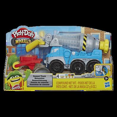 Play-Doh培樂多泥膠混凝土車組