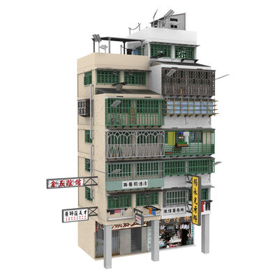 Tiny City Bd18 Kowloon Walled City Diorama