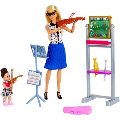 Barbie Music Teacher Doll & Playset - Nuturing Complete Playset