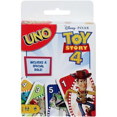 Toy Story反斗奇兵4 Uno遊戲咭
