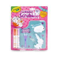 Crayola繪兒樂 繪兒樂百變彩繪毛小孩 寵物兩只裝 隨機發貨