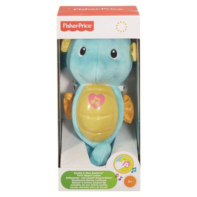 Fisher-Price Infant Sooth & Glow Seahorse Blue