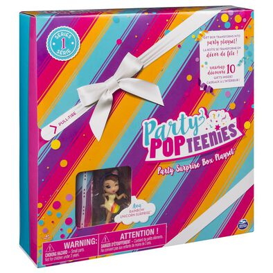 Party Popteenies Party Surprise Box - Assorted