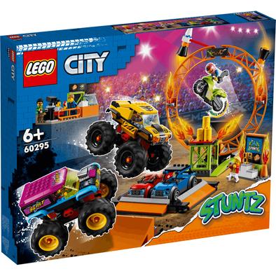 LEGO樂高城市系列 特技表演場 60295