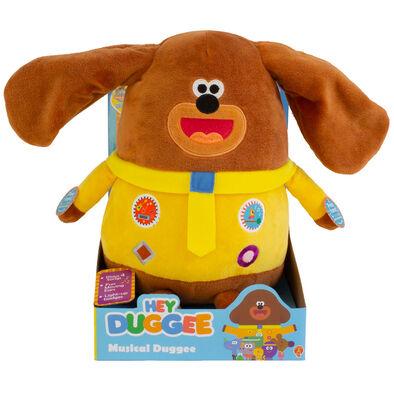 Hey Duggee Golded Bear Hey Duggee Musical Duggee Soft Toy