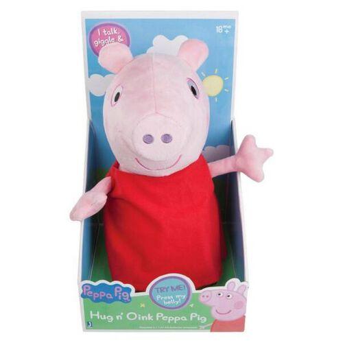 Peppa Pig粉紅豬小妹 Soft Toy (Hug N' Oink) (Peppa/George) 隨機發貨