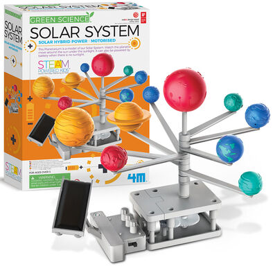 4M Hybrid Solar Engineering / Motorised Solar System Planetarium