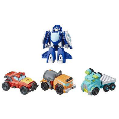 兒樂寶英雄transformers變形金剛救援機械人套裝
