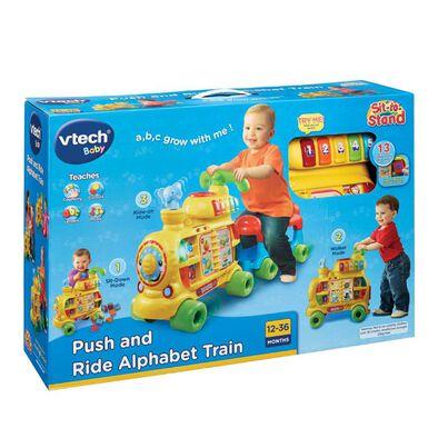 Vtech偉易達 Baby 推和坐字母表火車