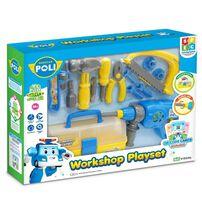 Robocar Poli救援小英雄波力 車間玩具套裝