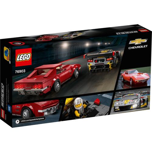 LEGO樂高超級賽車系列 Chevrolet Corvette C8.R Race Car and 1968 Chevrolet Corvette 76903