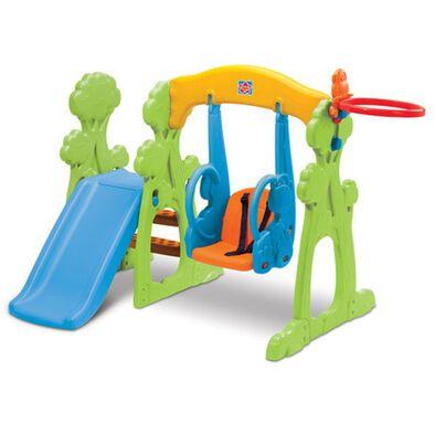 Grow'N Up高思維 幼兒滑梯鞦韆組合