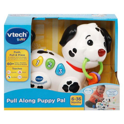 Vtech偉易達 音樂拖拉小狗