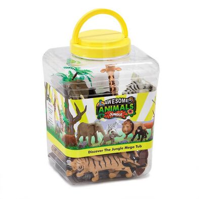 Awesome Animals Discover The Jungle Jumbo Tub