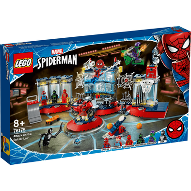 LEGO Marvel Super Heroes Attack on the Spider Lair - 76175