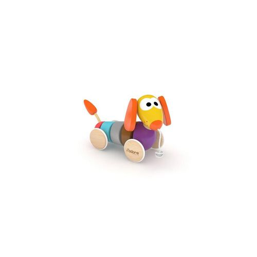 J'Adore Puppy Pull Dog Orange