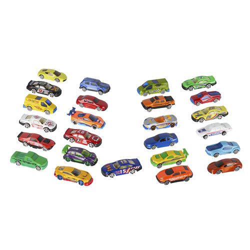 Speed City極速都市 35件裝壓鑄玩具和配件組合