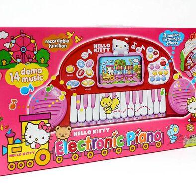 Sanrio Hello Kitty吉蒂貓多功能電子琴