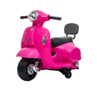 Vespa偉士 兒童電動迷你綿羊仔電單車-粉紅色