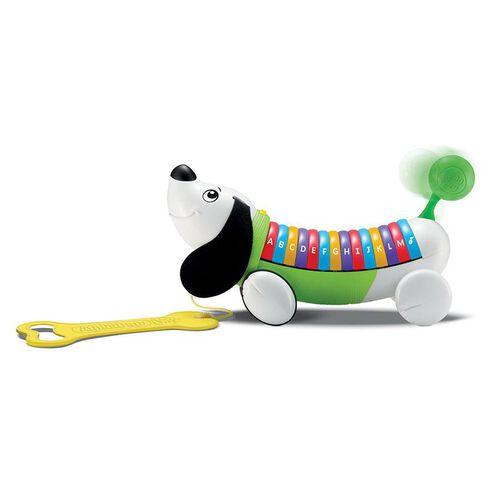 Leapfrog跳跳蛙 彩虹字母小狗 綠色