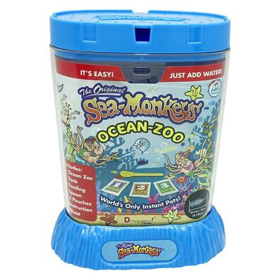 The Original Sea Monkeys Ocean Zoo - 隨機發貨