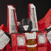 Transformers變形金剛世代系列 Wfc-Gs02 狂派紅翼,斯比頓之戰航行者玩偶