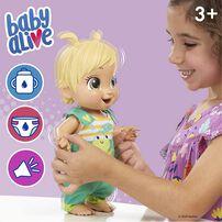 Baby Alive BB小麗 愛躍動玩偶-青蛙