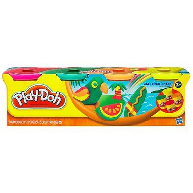 Play-Doh培樂多經典4色裝泥膠