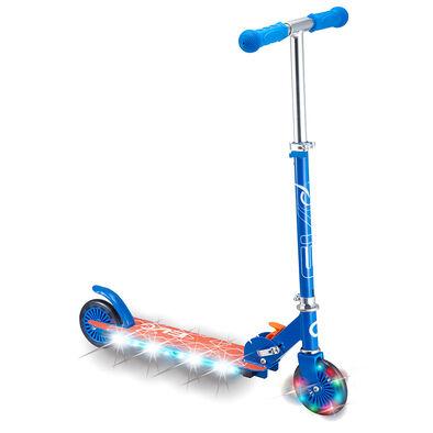 Evo 兩輪發光滑板車 -  藍色
