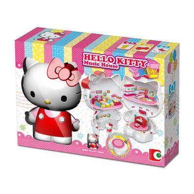 Hello Kitty吉蒂貓 積木系列 - 音樂屋