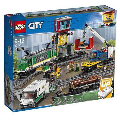 LEGO樂高城市系列 Cargo Train 10875
