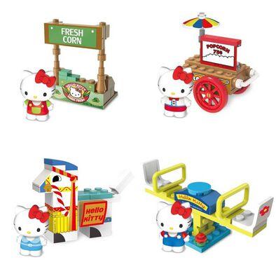 Hello Kitty吉蒂貓 歡樂小農場扭蛋 - 隨機發貨