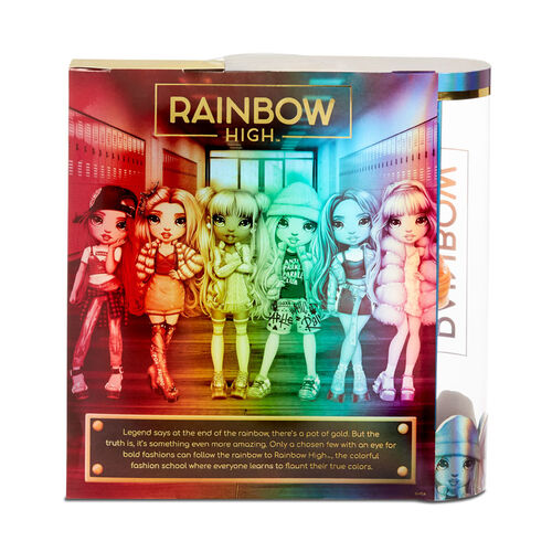 Rainbow High 七彩時尚少女poppy Rowan