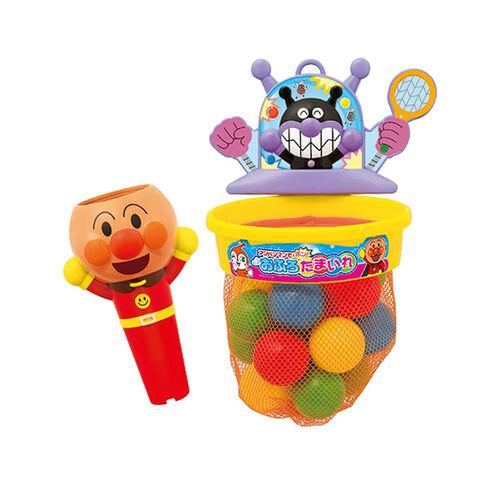 Anpanman麵包超人浴室浴室投籃遊戲套裝