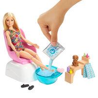 Barbie芭比健康生活美甲組合