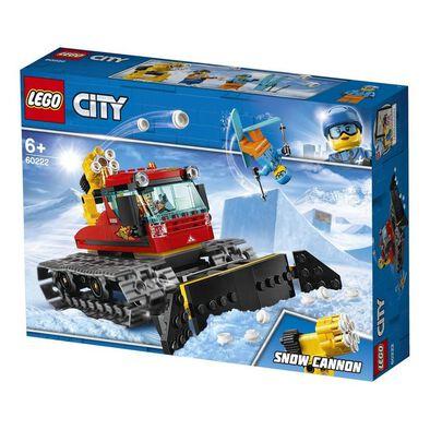 LEGO樂高城市系列冰雪清理裝甲車 60222