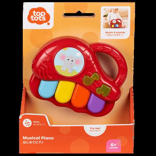 Top Tots智叻寶貝 卡通音樂玩具-鋼琴 - 隨機發貨