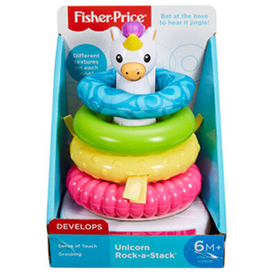 Fisher-Price Unicorn Rock a Stack