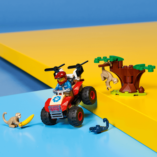 LEGO樂高城市系列 野生動物救援 ATV 60300