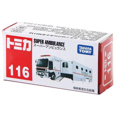 Tomica多美 車仔bx116 救護車