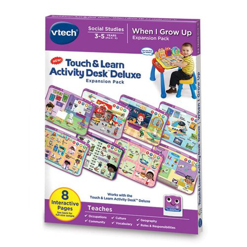 Vtech - Touch & Learn Activity Desk - When I Grow Up
