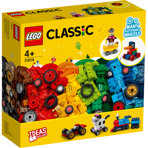 LEGO樂高經典系列顆粒和車輪 - 11014