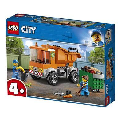 LEGO樂高城市系列垃圾車 60220