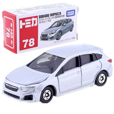Tomica Bx078 Subaru Impreza (1St)