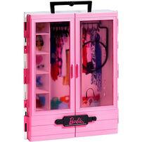 Barbie芭比閃亮造型衣櫃 (含娃娃)