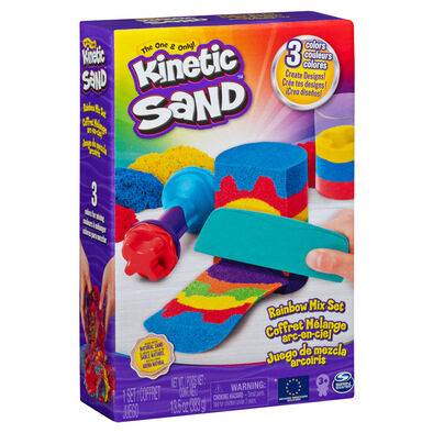 Kinetic Sand動力沙 彩虹配色套裝