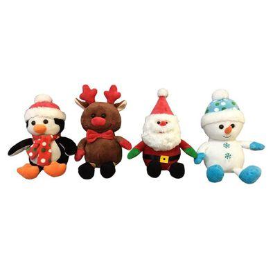 Animal Alley寵物王國 8英寸聖誕毛絨 隨機發貨