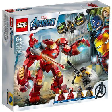 LEGO Marvel Iron Man Hulkbuster Versus A.I.M. Agent 76164