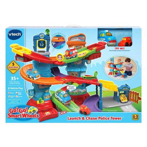 Vtech Toot-Toot Drivers Launch And Chase Police Tower
