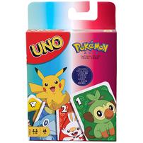 Mattel Games美泰兒遊戲  UNO 寵物小精靈 (英文版)